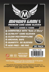 Mayday Games Sleeves  50ct - 50 x 75