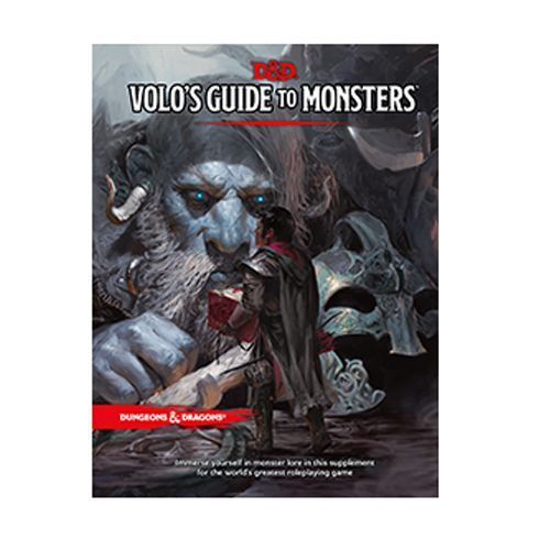 Dungeons and Dragons: Volos Guide to Monsters