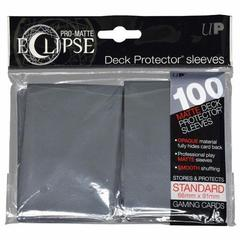 Ultra Pro - Pro Matte Eclipse: Deck Protector 100 Count Pack - Smoke Grey