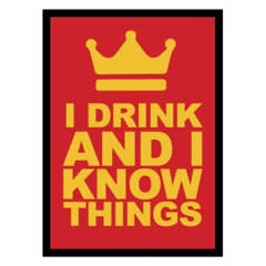 Legion - Sleeves 50ct - Gloss I Drink and I Know Things