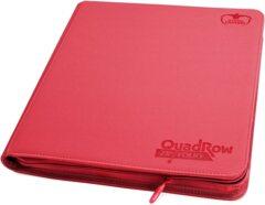 Ultimate Guard QuadRow Zipfolio -  Red