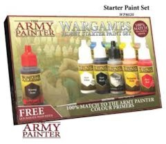 Army Painter Wargames Starter paint Set