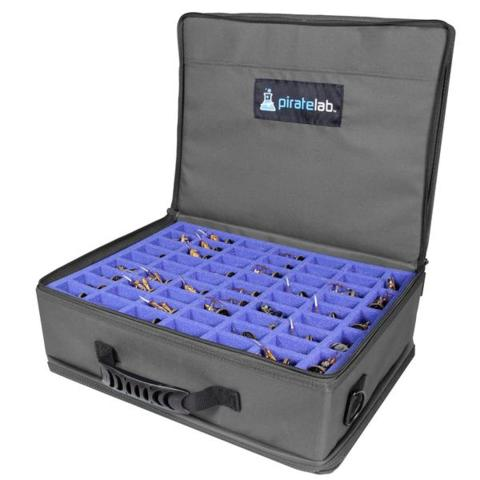 Pirate Lab - Miniatures Case (large) - CHARCOAL