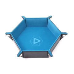 Die Hard Dice - Hex Folding Dice Tray - Velvet TEAL