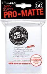 Ultra Pro - Sleeves 50ct (standard) - Pro-matte WHITE