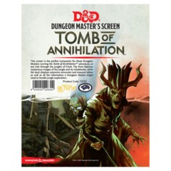 D&D Dm Screen Tomb Of Annihilation
