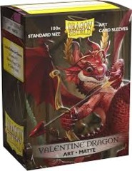 Dragon Shield - Sleeves 100ct (Standard) - Art Matte VALENTINE DRAGON