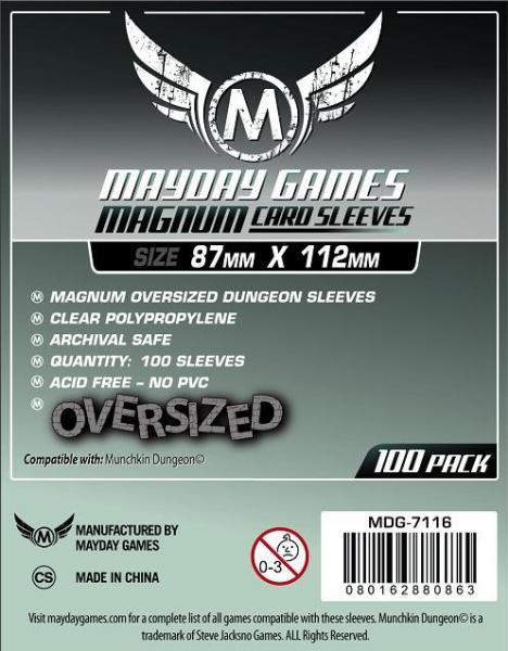 Mayday Games Sleeves 100ct - 87 x 112
