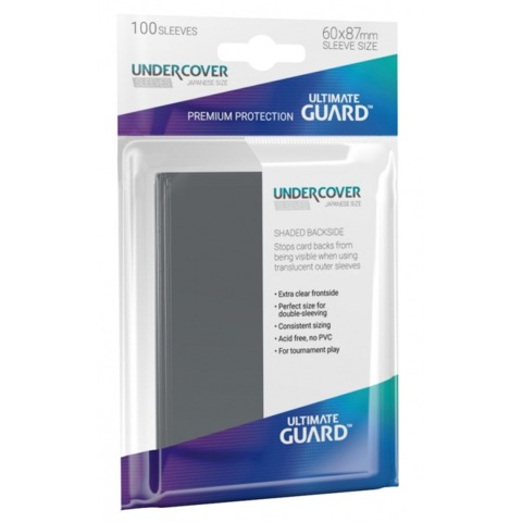 Ultimate Guard - Sleeves 100ct (Precise Fit Japanese) - UNDERCOVER