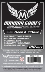 Mayday Games Sleeves 100ct - 70 x 110