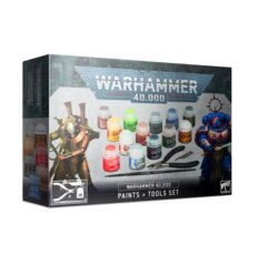 Warhammer 40000 - Paints + Tools Set