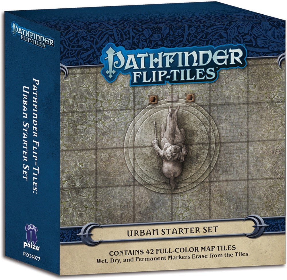 Pathfinder Flip-Tiles Urban Starter Set
