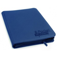 Ultimate Guard Zipfolio XenoSkin - 8 Pocket -  Dark Blue