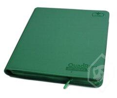 Ultimate Guard QuadRow Zipfolio -  Green