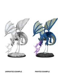 D&D Nolzur's Marvelous Miniatures: Young Blue Dragon