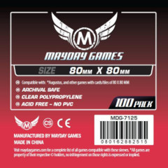 Mayday Games Sleeves 100ct - 80 x 80