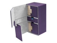 Ultimate Guard - Twin Flip'n'Tray 200 - PURPLE