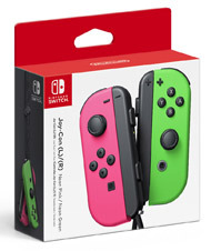 Joy-Con Pink and Green