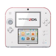 Nintendo 2DS Console - Red/White