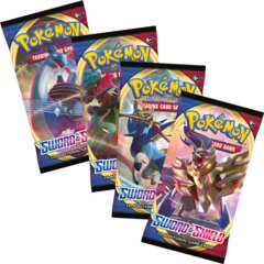 Pokemon Sword & Shield Booster Packs