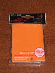 Ultra Pro Solid 50ct Orange