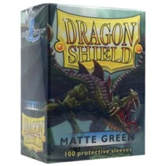 Dragon Shield Matte 100ct Green
