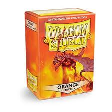 Dragon Shield Matte Orange