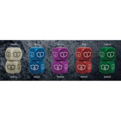 Magic Loyalty Dice D6 Set of 4 (Colors Vary)