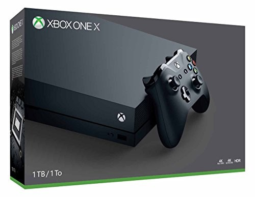 Xbox One X 1TB Console (Black)