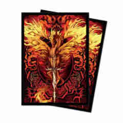 Ultra Pro 100ct Flameblade Sleeves