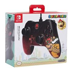 Nintendo Switch Wired Controller Bowser