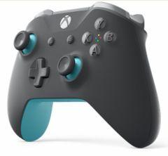 Xbox One Grey Blue Wireless Controller
