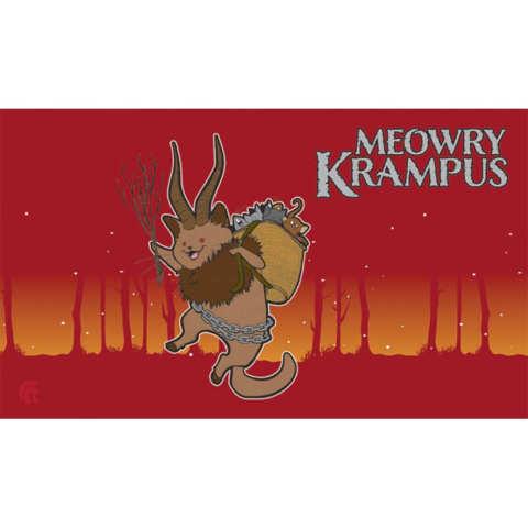 Legion Meowry Krampus Playmat