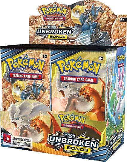 Pokemon Sun & Moon Unbroken Bonds Booster Pack