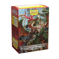 Dragon Shield Brushed Christmas Dragon
