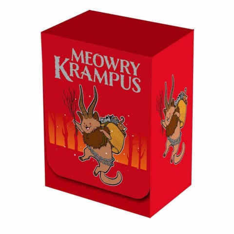 Legion Meowry Krampus Deck Box