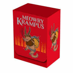 Legion Meowry Krampus Deck Box