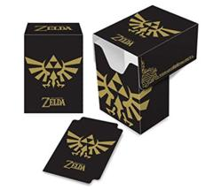 Ultra Pro Deck Box Zelda Triforce