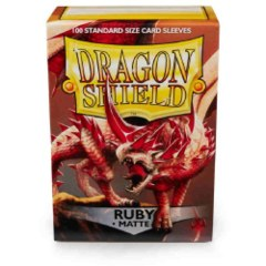 Dragon Shield Ruby Matte