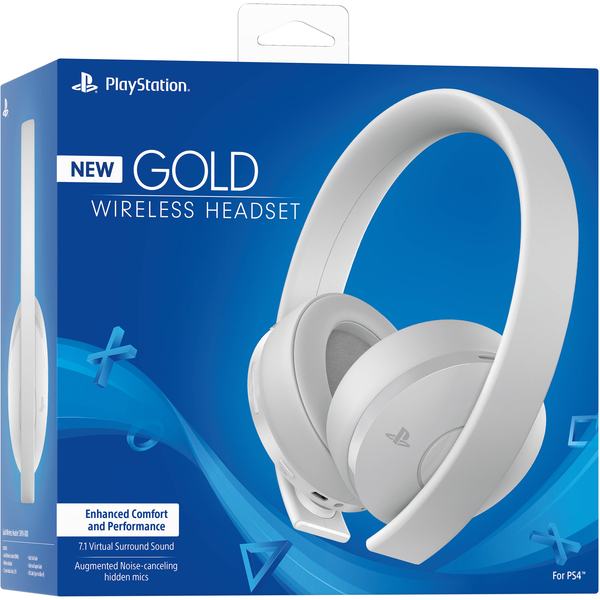 New Gold Wireless Headset