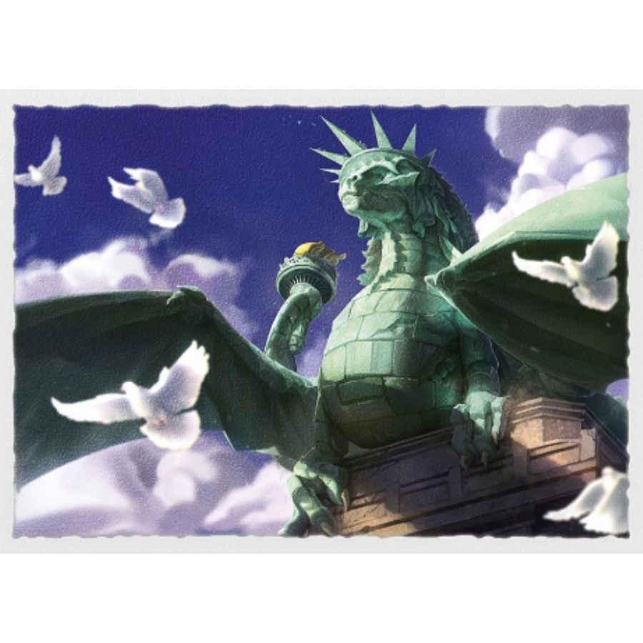 Dragon Shield Matte Dragon of Liberty Sleeves