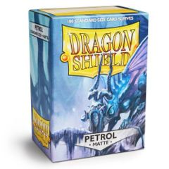 Dragon Shield Matte 100ct Petrol