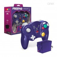 Cirka Wireless Gamecube Freepad (Purple)