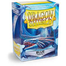 Dragon Shield Matte Blue