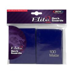 BCW Elite 2 Blue Matte 100ct Sleeves