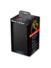 BCW Deck Locker LX Black