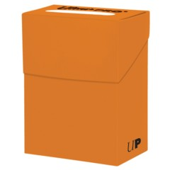 Ultra Pro Deck Box Solid Orange