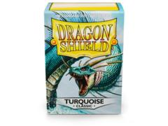 Dragon Shield Box of 100 in Turquoise
