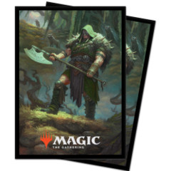 Ultra Pro Sleeves: Throne of Eldraine - Garruk, Cursed Huntsman (100)