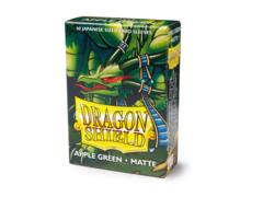 Dragon Shield Box of 60 Japanese Size Card Sleeves Matte - Apple Green